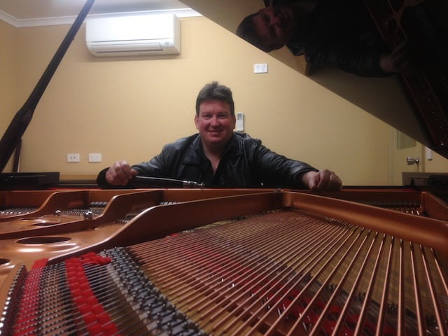 Stephen at precision piano tuner Boxhill, Doncaster, Pakenham, Glen Waverley, Ringwood