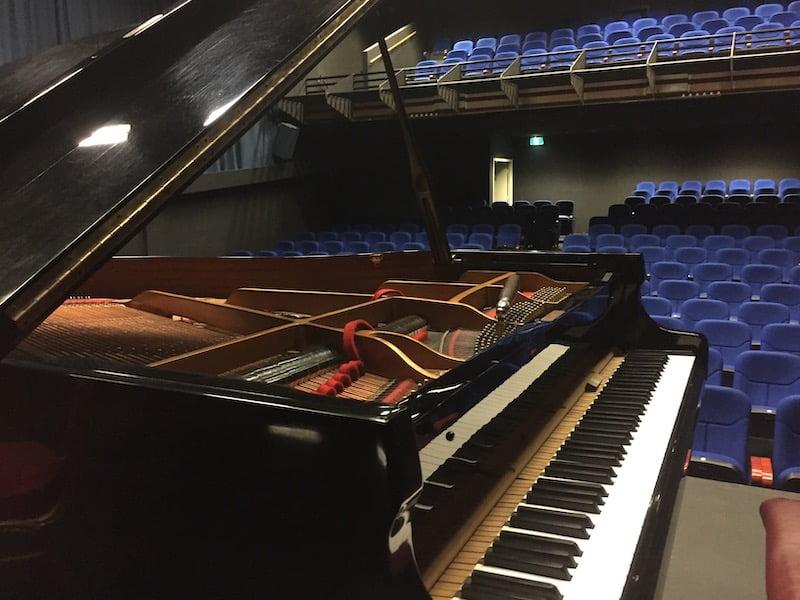 specialist piano tuning in Melbourne theatre