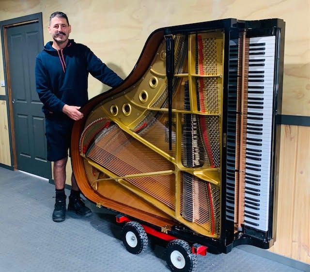 The Piano Mover Man